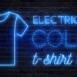 Electric Blue T-Shirt Color Print Trend