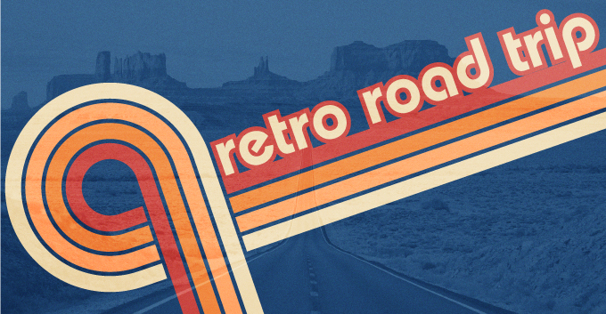 Retro Road Trip T-Shirt Design Trend