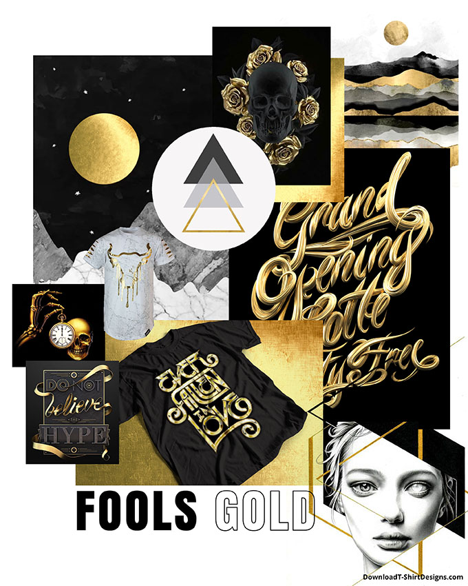 downloadt-shirtdesigns-fools-gold-trend-moodboard